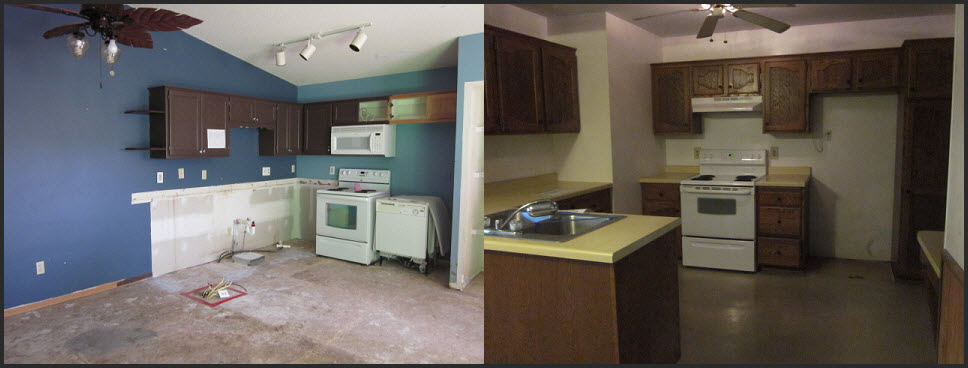 Comparison of Bank Foreclosure Kitchens