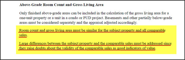 How to measure a condominium for real estate and appraisal for How much is a bathroom worth on an appraisal